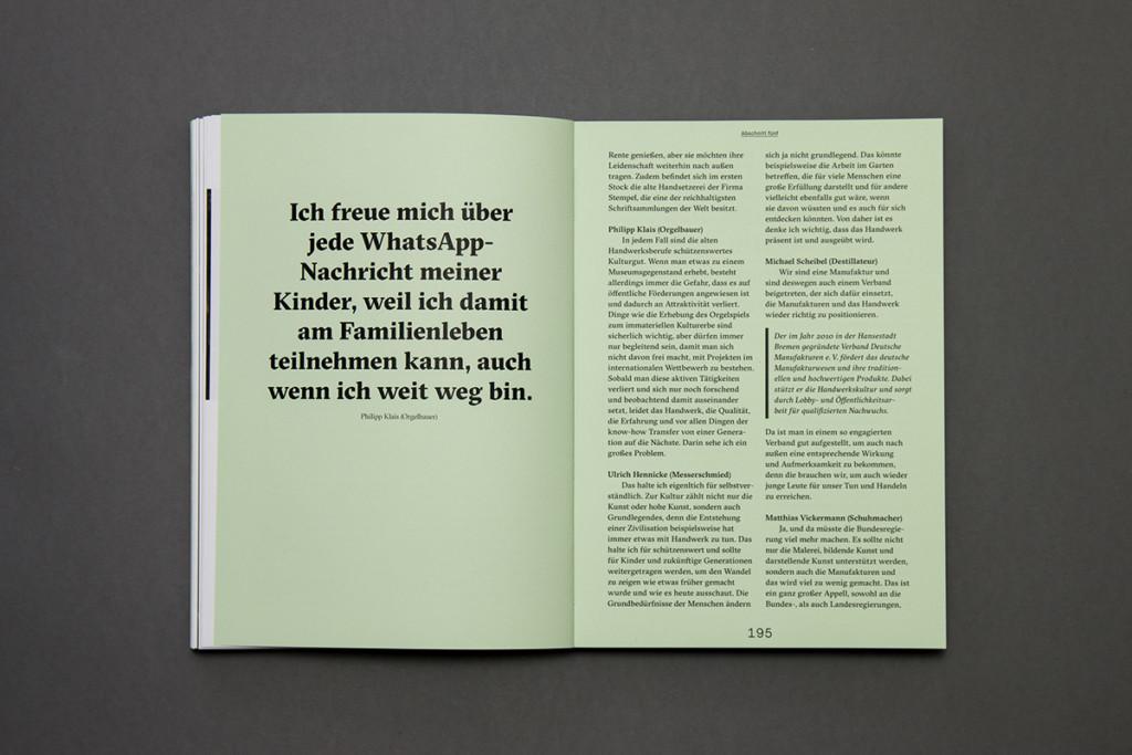 m-czyk.com Handwert – Traditionsberufe in der modernen Gesellschaft